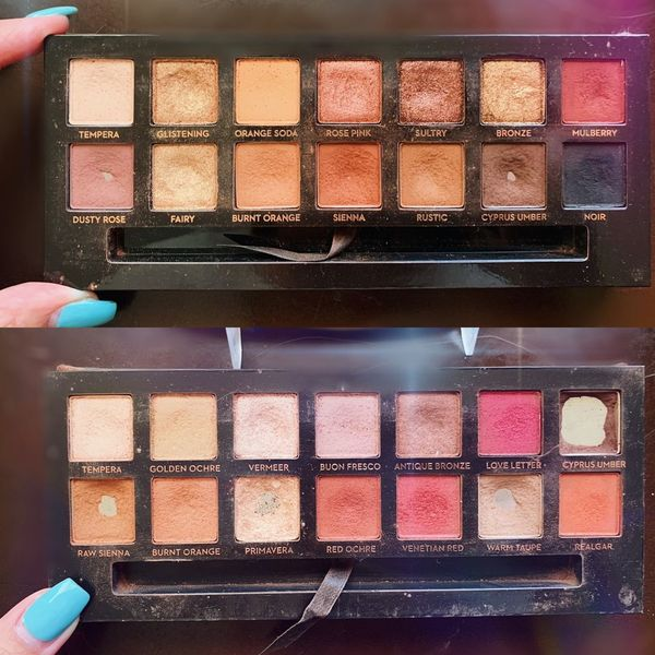 All Time Favorite Eyeshadow Palettes 🎨  | Cherie