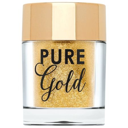 Pure Gold Ultra-Fine Face & Body Glitter, Too Faced, cherie