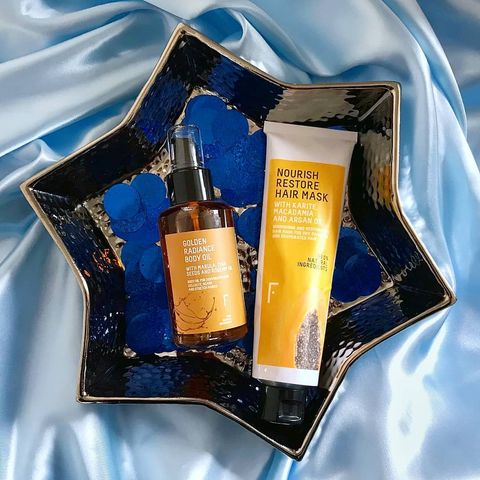 ⭐ The Golden Radiance body oil