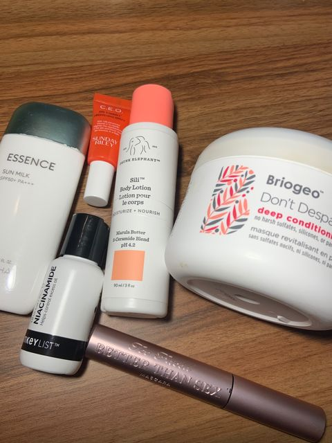 December/January Empties!