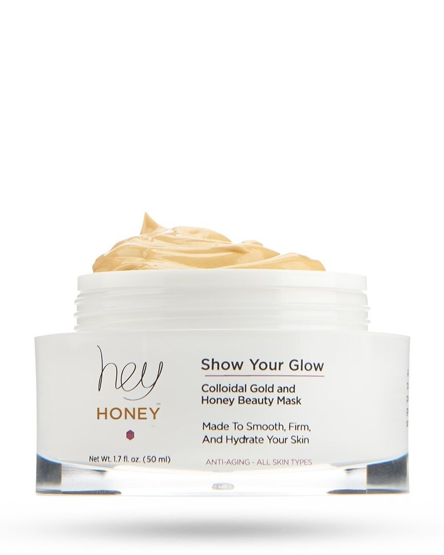 SHOW YOUR GLOW Colloidal Gold & Honey Beauty Mask