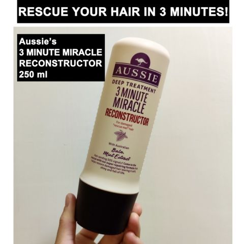 Rescue your hair in 3 minutes!😍