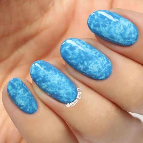 💙Pool/ocean inspired nails!💙