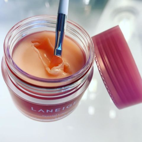 this is the laneige Lip Mask w
