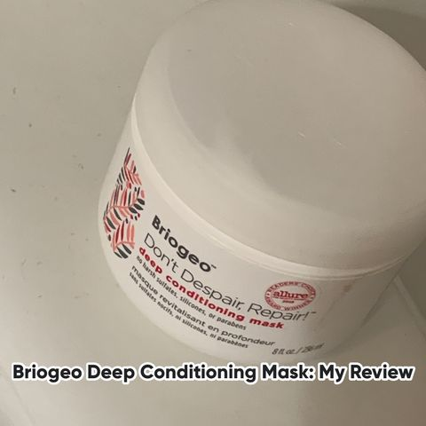 Is The Briogeo Deep Conditioning Mask Worth $36?