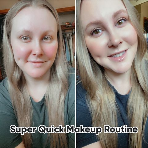 My Lazy Girl Makeup Routine