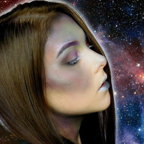 DIY Galaxy look