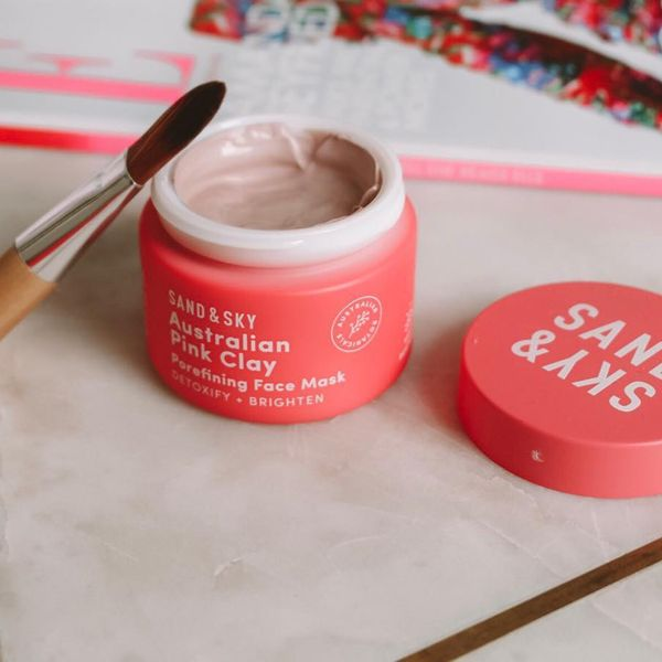 sandandskyaus - Pink Clay Mask It's recommended to use 2-3 times a week but at...   Cherie