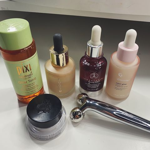 My pre makeup routine