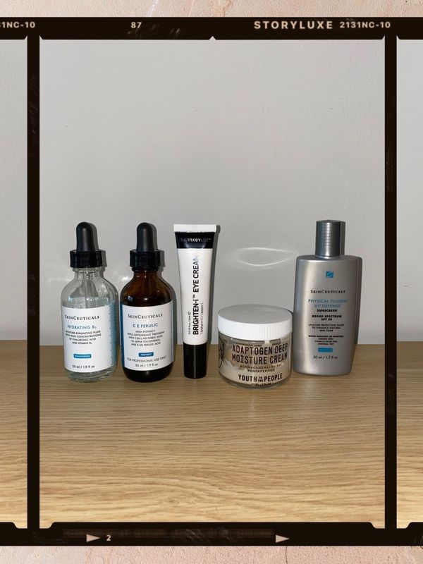 Skincare Line-up: Combo Skin Daytime ✨ (simple!) | Cherie