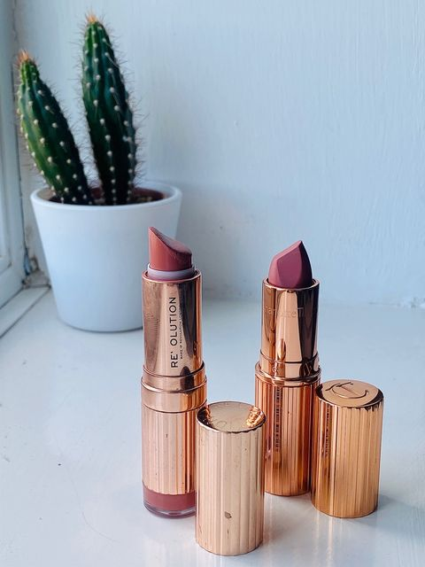 Battle of the rose gold lippy
