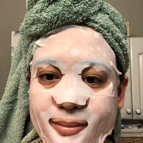 I live sheet masks. This one d