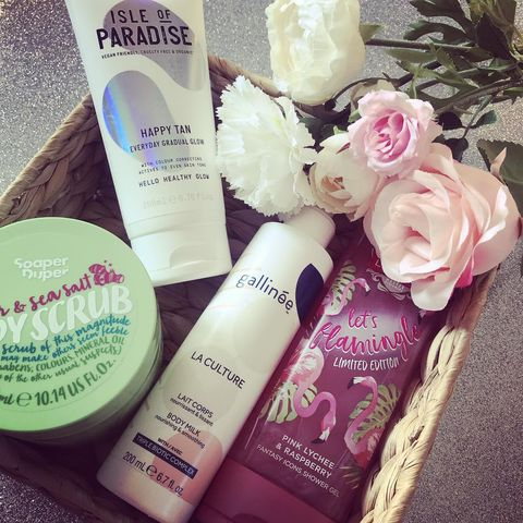 Some current bodycare heros  I