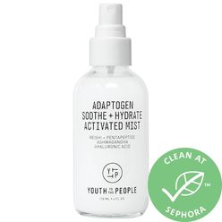 Adaptogen Soothe + Hydrate Activated Mist with Reishi + Ashwagandha