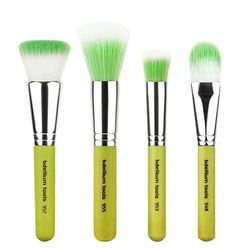 Green Bambu Foundation 4pc. Brush Set