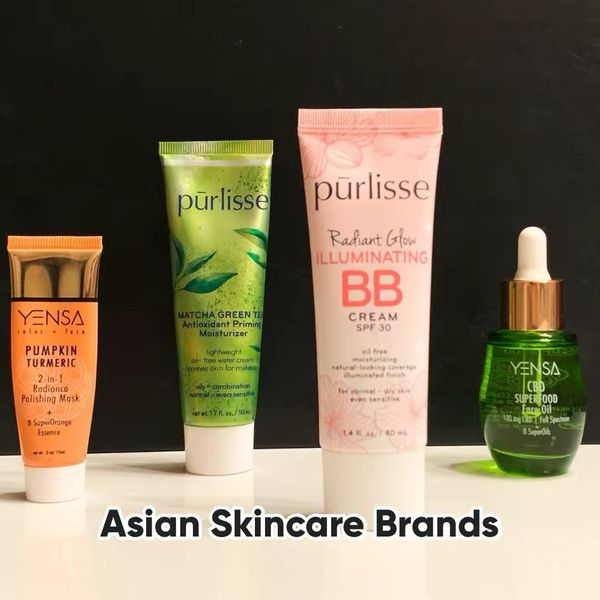 Yensa and Purlisse Asian Beauty Brands | Cherie