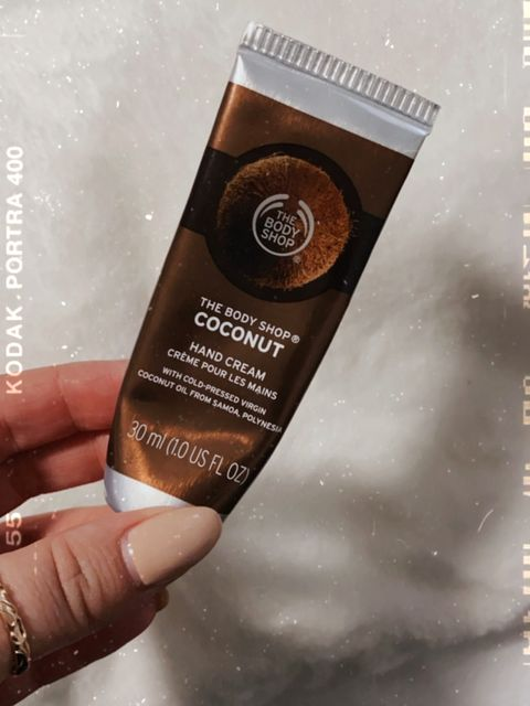 The Body Shop - Coconut Hand Cream