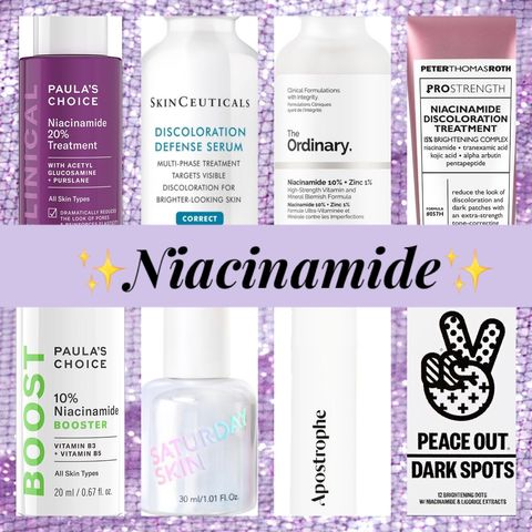 Niacinamide For Acne, Dark Marks and More!
