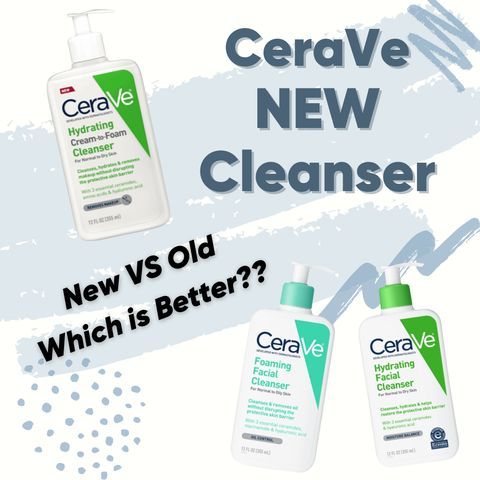 CeraVe's New Release Cleanser! Is this right for you?🧐