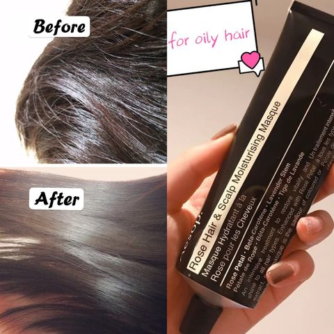 How to get rid of oily hair? My secret is...🤫