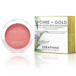 Lychee + Gold Healthy Glow Rose-Gold Blush