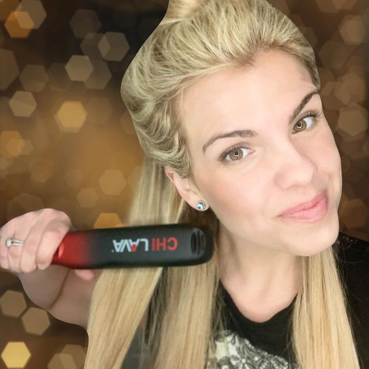 My 𝐟𝐢𝐫𝐬𝐭 𝐡𝐚𝐢𝐫𝐬𝐭𝐲𝐥𝐢𝐧𝐠 𝐢𝐫𝐨𝐧 was from @chihaircare and... | Cherie