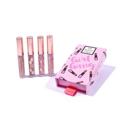 Deluxe Mini Girl Gang Set Liquid Lipstick Set