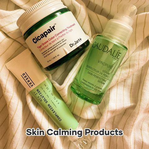 Products that have Calmed my Tomato Skin