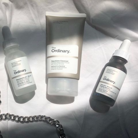 THREE WEEKS USING THE ORDINARY PRODUCTS