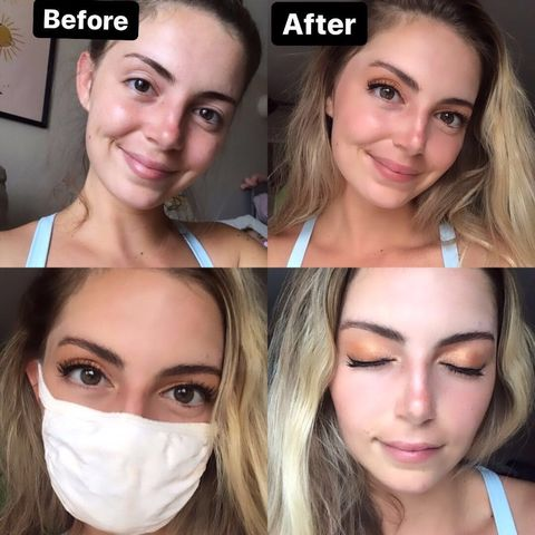 How to bring out your eyes while wearing a mask
