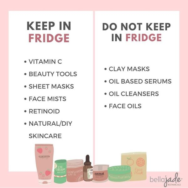 Should you keep that product in the fridge?  | Cherie