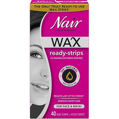 Wax Ready-Strips for Face, Nair, cherie