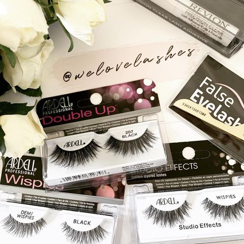 My fave ardell Wispies lashes