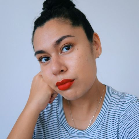 SUMMER 2020 RED LIP MAKEUP LOOK