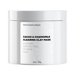 CACAO & CHAMOMILE CLEARING CLAY MASK