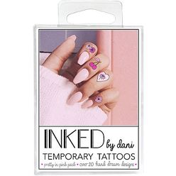 Temporary Tattoos Pretty in Pink Pack