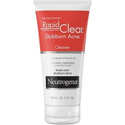 Rapid Clear Stubborn Acne Cream Cleanser