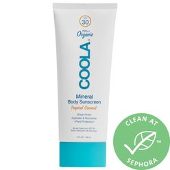 Mineral Body Organic Sunscreen Lotion SPF 30 Tropical Coconut