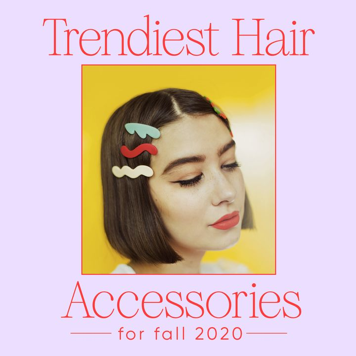 Cutest Hair Accessories for Fall 2020 You Haven't Discovered Yet