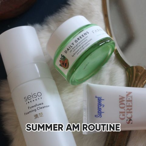 AM ROUTINE: summer to fall transition!