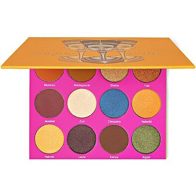 The Nubian II Eyeshadow Palette