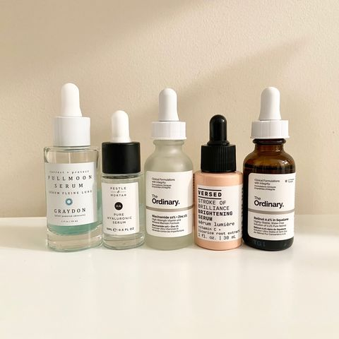 My Current Favourite Serums