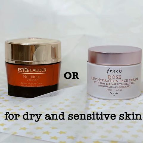 Creams that work well for your dry and sensitive
