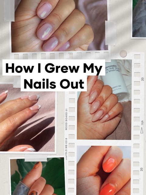 How I Grew My Nails Out