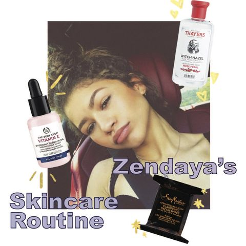 Zendaya's skincare routine✨What makes her skin glow for 2020 Emmy Awards🤔