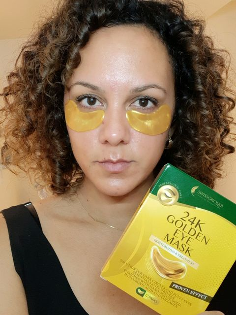 Best eye mask for dark circles and puffiness!