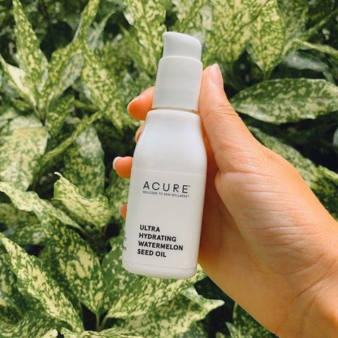 Acure watermelon seed oil!