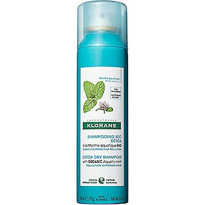 Detox Dry Shampoo With Organic Aquatic Mint