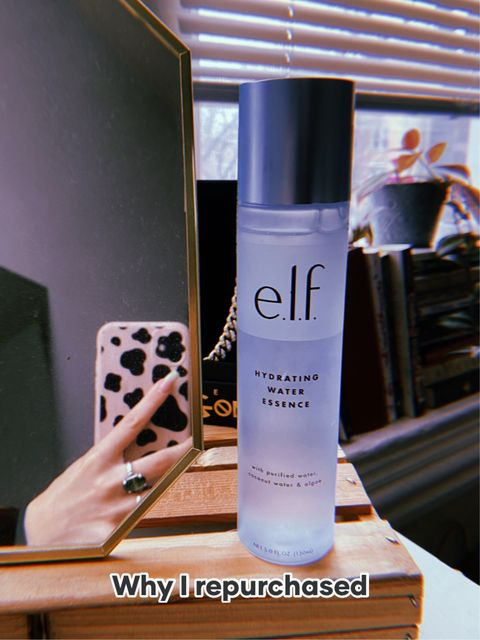 Why I repurchased Elf's Hydrating Water Serum💧