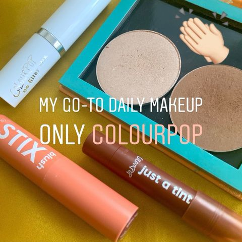 My go-to everyday makeup-only Colourpop products
